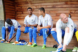 Subs bench  - Photo mandatory by-line: Dougie Allward/JMP - Tel: Mobile: 07966 386802 07/09/2013 - SPORT - FOOTBALL -  Home Park - Plymouth - Plymouth Argyle V Bristol Rovers - Sky Bet League Two