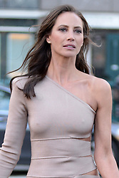 March 29, 2016 - New York, NY, USA - March 29, 2016 New York City..Christy Turlington was seen at a photo shoot for Maybelline in Manhattan on March 29, 2016....Credit: Kristin Callahan/ACE Pictures..: (Credit Image: © Callahan/Ace Pictures via ZUMA Press)