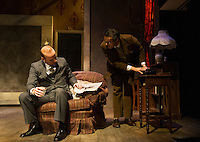The Business of Murder dress rehearsal at Winnipesaukee Playhouse.   Karen Bobotas for the Laconia Daily Sun