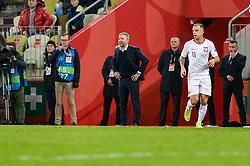 November 15, 2018 - Gdansk, Poland, Head coach of Polish team JERZY BRZECZEK during football friendly match between Poland - Czech Republic at the Stadion Energa in Gdansk, Poland