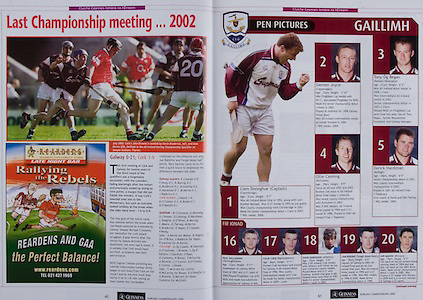 All Ireland Senior Hurling Championship - Final,.11.09.2005, 09.11.2005, 11th Septemeber 2005,.Minor Galway 3-12, Limerick 0-17,.Senior Cork 1-21, Galway 1-16,.11092005AISHCF,.Reardens, .