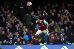 Aaron Cresswell of West Ham United in action - Mandatory byline: Jason Brown/JMP - 19/03/2016 - FOOTBALL - London, Stamford Bridge - Chelsea v West Ham United - Barclays Premier League