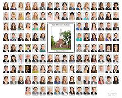The 2012 Yale Divinity School Senior Portraits Composite Photograph. Full Color Version.