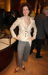 MOLLY DENT-BROCKLEHURST at a party to celebrate 100 years of Chinese Cinema hosted by Shangri-la Hotels and Tartan Films at Asprey, New Bond Street, London on 25th April 2006.<br /><br />NON EXCLUSIVE - WORLD RIGHTS