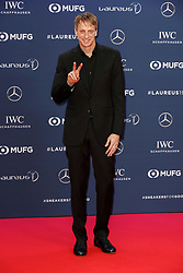 Laureus Academy Member Tony Hawk arriving to the Laureus Sports Awards 2019 ceremony at the Sporting Monte-Carlo in Monaco on February 18, 2019. Photo by Marco Piovanotto/ABACAPRESS.COM