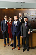 SHOT 1/8/19 12:13:51 PM - Bachus & Schanker LLC lawyers James Olsen, Maaren Johnson, J. Kyle Bachus, Darin Schanker and Andrew Quisenberry in their downtown Denver, Co. offices. The law firm specializes in car accidents, personal injury cases, consumer rights, class action suits and much more. (Photo by Marc Piscotty / © 2018)