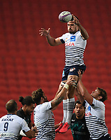 Rugby Union - 2019 / 2020 European Challenge Cup - Semi-final - Bristol Bears vs Bordeaux-Begles<br /> <br /> Bordeaux-Begles' Guido Petti claims the lineout, at Ashton Gate.<br /> <br /> COLORSPORT/ASHLEY WESTERN