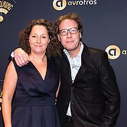 NLD/Hilversum/20170119 - Start inloop 11de Radio Gala 2016, Bert Haandrikman en partner