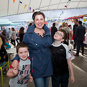 14.06.2018.             <br /> Limerick Food Group hosted the Urban Food Fest street food evening in the Milk Market on Thursday June 14th with a 'Summer Fiesta' theme in one big Limerick city summer party.<br /> <br /> Pictured at the event were, Frankie, Valerie and Paddy Murphy. Picture: Alan Place