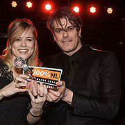 NLD/Amsterdam/20150203 - Uitreiking 100% NL Awards 2015, Common Linnets krijgen de award voor Beste Album van het Jaar