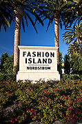 Fashion Island Monument In Newport Beach