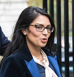 Downing Street, London, December 1st 2015. Employment Minister Priti Patel arrives at Downing Street for the weekly cabinet meeting. ///FOR LICENCING CONTACT: paul@pauldaveycreative.co.uk TEL:+44 (0) 7966 016 296 or +44 (0) 20 8969 6875. ©2015 Paul R Davey. All rights reserved.
