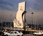 Padrao dos Descobrimentos, Monument to the Discoveries, Lisbon, Portugal in 1999