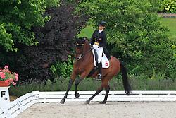 Muller Sophia Aiko (SUI) - Laser III<br /> European Championships Young Riders 2010<br /> © Hippo Foto - Leanjo de Koster