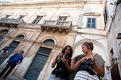 Visita Polignano a Mare, 4 Ottobre 2011 .Apulia Audiovisual Workshop Puglia Experience.Apulia Film Commission