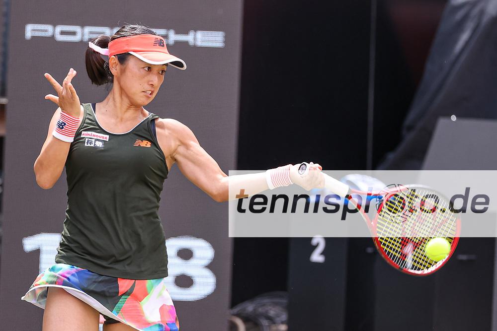 "Im Bild: Misaki DOI (JPN) <br /> <br /> bett1open 2021 (WTA 500), Berlin, LTTC ""Rot-Weiß"" - Steffi-Graf-Stadion, 13.06.2021, <br /> <br /> Foto: Claudio Gärtner"