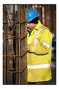 Ghent, Belgium, 20 Jan, 2009, Worker, PHOTO © Christophe Vander Eecken