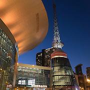 The Nashville Visitor Information Center is seen in downtown Nashville, Tennessee on Friday, November 13, 2015. (Alex Menendez via AP)