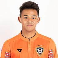 THAILAND - JUNE 25: Nontawat Klinjumpasri #28 of Nakhonratchasrima Mazda FC on June 25, 2019.<br /> .<br /> .<br /> .<br /> (Photo by: Naratip Golf Srisupab/SEALs Sports Images/MB Media Solutions)
