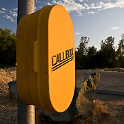 Call Box in Willow Creek State Rec Area, CA