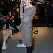 NLD/Amsterdam/20140124 - MB AFW 2014 winter, inloop show Jan Boelo, Stacey Rookhuizen