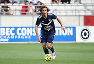 Paul Baysse of Bordeaux during the Friendly Game football match between Stade de Reims and Girondins de Bordeaux on August 8, 2020 at the Auguste Delaune Stadium, in Reims, France - Photo Juan Soliz / ProSportsImages / DPPI