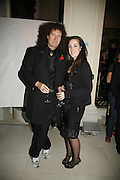 Brian May and Emily May, Classic Rock Roll of Honour, Classic Rock magazineÍs annual awards party. Langham Hotel, portland Place. London. 6 November 2006.  ONE TIME USE ONLY - DO NOT ARCHIVE  © Copyright Photograph by Dafydd Jones 66 Stockwell Park Rd. London SW9 0DA Tel 020 7733 0108 www.dafjones.com