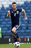 Scotland defender Stephen O'Donnell (2) (Kilmarnock) during the Friendly international match between Scotland and Portugal at Hampden Park, Glasgow, United Kingdom on 14 October 2018.