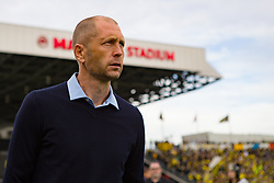 November 4, 2018 - Columbus, OH, U.S. - COLUMBUS, OH - NOVEMBER 04: Columbus Crew head coach Gregg Berhalter enters the field before the MLS eastern conference semifinals game between the Columbus Crew SC and the New York Red Bulls on November 04, 2018 at Mapfre Stadium in Columbus, OH. (Photo by Adam Lacy/Icon Sportswire) (Credit Image: © Adam Lacy/Icon SMI via ZUMA Press)