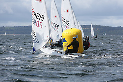 Day 4 NeilPryde Laser National Championships 2014 held at Largs Sailing Club, Scotland from the 10th-17th August.<br /> <br /> 204219, Daniel WIGMORE<br /> <br /> Image Credit Marc Turner