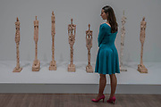 Woman of Venice (various) - the UK's first major retrospective of Alberto Giacometti (1901-1966) for 20 years.<br /> Celebrated as a sculptor, painter and draughtsman, he is famous for his distinctive elongated figures. With the help of Fondation Alberto et Annette Giacometti, Paris, Tate Modern's exhibition brings together over 250 works. Alberto Giacometti is at Tate Modern from 10 May to 10 September 2017