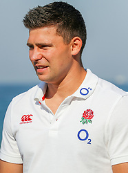 Ben Youngs (Leicester Tigers) during the England Press Conference at the Kashmir restaurant, and at the Beach in front of the team Hotel Umhlanga, Durban,South Africa.13,06,2018 Photo by (Steve Haag JMP)