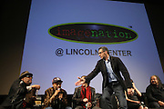 l to r: Stew, Spike Lee, Richard Edson, John Tutturo, Rosie Perez and Ernest Dickerson at The ImageNation celebration for the 20th Anniversary of ' Do the Right Thing' held Lincoln Center Walter Reade Theater on February 26, 2009 in New York City. ..Founded in 1997 by Moikgantsi Kgama, who shares executive duties with her husband, Event Producer Gregory Gates, ImageNation distinguishes itself by screening works that highlight and empower people from the African Diaspora.