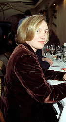 PRU MURDOCH daughter of Rupert Murdoch<br /> in February 1996.       LMK 28