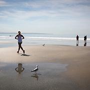 Coronado Beach in San Diego.