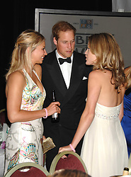 Left to right, HOLLY BRANSON, HRH PRINCE WILLIAM and ROSE VAN CUTSEM at the 2008 Boodles Boxing Ball in aid of the charity Starlight held at the Royal Lancaster Hotel, London on 7th June 2008.<br /> <br /> NON EXCLUSIVE - WORLD RIGHTS
