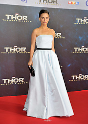 """Thor - The Dark Kingdom German Premiere.<br /> Natalie Portman during the German premiere of the new movie """"THOR - THE DARK KINGDOM"""" in Berlin, Germany on Sunday October 27nd, 2013. Picture by Schneider-Press / i-Images.<br /> UK & USA ONLY"""