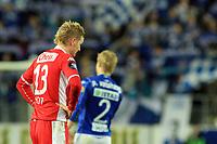 Fotball <br /> Tippeligaen<br /> 05.04.2010 <br /> Molde v Brann 3-2<br /> Aker stadion<br /> Erik huseklepp - brann<br /> Foto:Richard brevik Digitalsport