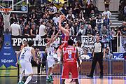DESCRIZIONE : Trento Lega A 2015-16 Dolomiti Energia Trentino - Consultinvest Pesaro<br /> GIOCATORE : Giuseppe Poeta<br /> CATEGORIA : Ritardo<br /> SQUADRA : Dolomiti Energia Trentino - Consultinvest Pesaro<br /> EVENTO : Campionato Lega A 2015-2016 <br /> GARA : Dolomiti Energia Trentino - Consultinvest Pesaro<br /> DATA : 08/11/2015 <br /> SPORT : Pallacanestro <br /> AUTORE : Agenzia Ciamillo-Castoria/Giulio Ciamillo<br /> Galleria : Lega Basket A 2015-2016 <br /> Fotonotizia : Trento Lega A 2015-16 Dolomiti Energia Trentino - Consultinvest Pesaro