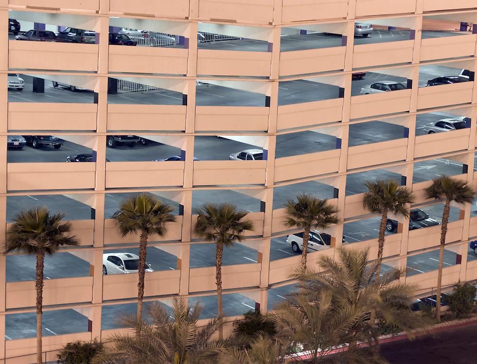 USA ,Nevada, Las Vegas, Parkhaus, <br /> parking garage
