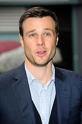 Image ©Licensed to i-Images Picture Agency. 08/07/2014. London, United Kingdom. Rupert Evans during the press night for 'The Curious Incident Of The Dog In The Night-Time' at Gielgud Theatre. Picture by Chris Joseph / i-Images