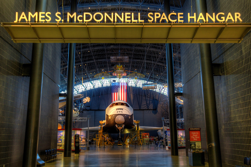 The Space Shuttle Enterprise has been the centerpiece of the Smithsonian's National Air and Space Museum's Udvar-Hazy Center at Dulles International Airport for several years. But New York here she comes! ..Preparations are under way for Enterprise to be flown to JFK Airport this spring, and in the summer, be moved by barge to the Intrepid Sea, Air & Space Museum in New York City. In her place, NASA is moving the Space Shuttle Discovery, the most traveled orbiter in the fleet, to the Air & Space Musuem for her retirement. Discovery arrives in DC April 17!.