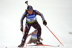 Laura Spector (USA) at Women 15 km Individual at E.ON Ruhrgas IBU World Cup Biathlon in Hochfilzen (replacement Pokljuka), on December 18, 2008, in Hochfilzen, Austria. (Photo by Vid Ponikvar / Sportida)