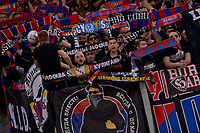 CSKA supporters<br /> Roma 23-10-2018 Stadio Olimpico<br /> Football Calcio UEFA Champions League 2018/2019 <br /> AS Roma - CSKA Moscow<br /> Foto Antonietta Baldassarre / Insidefoto
