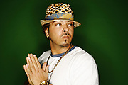 Houston-based rapper/singer Baby Bash, at  the Houston Chronicle studio Thursday, November 1, 2007. Baby Bash whose new disc Cyclone was released October 31,2007 on Arista. The title track is a big hit at radio and top ten at Billboard. Baby Bash also scored several hits with Frankie J, Natalie and Akon -- but this is his highest-profile solo outing to date.(BILLY SMITH II/CHRONICLE)