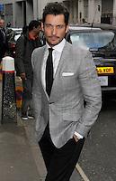 David Gandy, UN x WIE Awards Gala Dinner, Goldsmiths Hall, London UK, 27 April 2015, Photo By Brett D. Cove