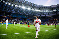 July 11, 2018 - Moscow, Russia - 180711 Kieran Trippier of England during the FIFA World Cup semi final match between Croatia and England on July 11, 2018 in Moscow..Photo: Petter Arvidson / BILDBYRÃ…N / kod PA / 92085 (Credit Image: © Petter Arvidson/Bildbyran via ZUMA Press)