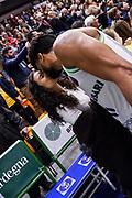 Dwayne Evans<br /> Banco di Sardegna Dinamo Sassari - Unet Hapoel Holon<br /> FIBA BCL Basketball Champions League 2019-20<br /> Sassari, 28/01/2020<br /> Foto L.Canu / Ciamillo-Castoria