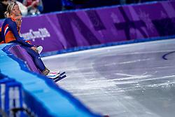 24-02-2018: Olympische Spelen: Dag 15: Pyeongchang<br /> Koen Verweij heeft Nederland op de Winterspelen het brons bezorgd op de massastart.