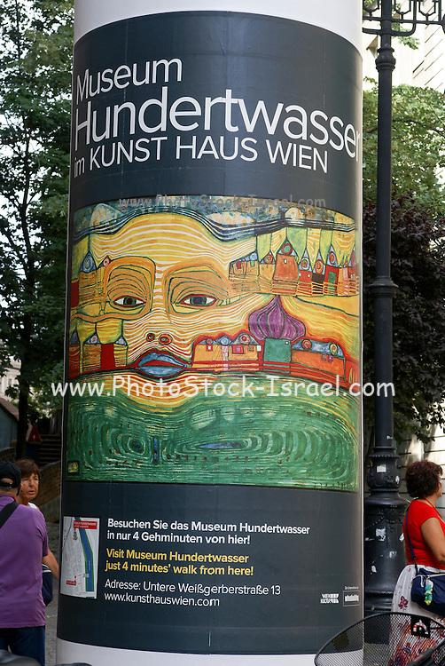 Vienna, Austria Museum poster